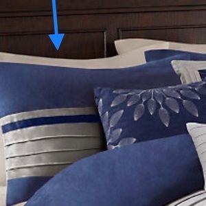 NWOT 2 Pillow Shams Madison Park Microsuede